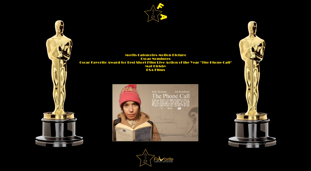 oscar favorite best short film live action award the phone call