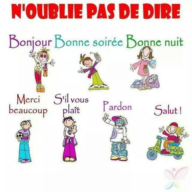 تعلم اللغة الفرنسية Apprendre Le Francais Les Formules De