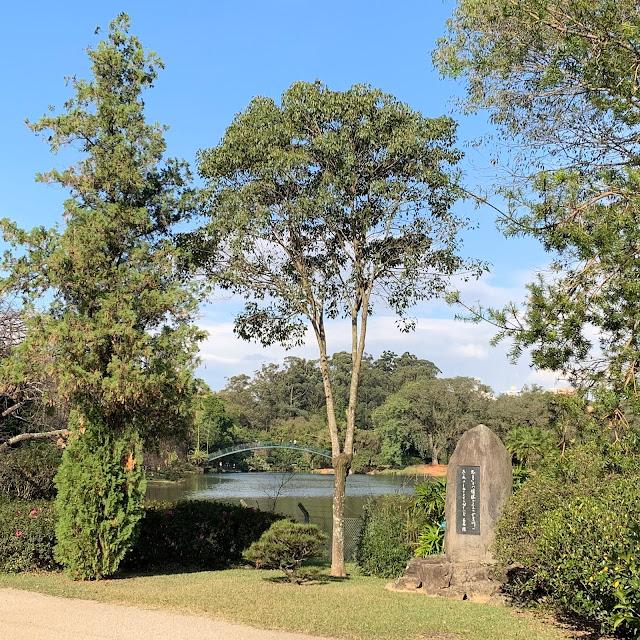 Jardim japonês Ibirapuera, Parque ibirapuera