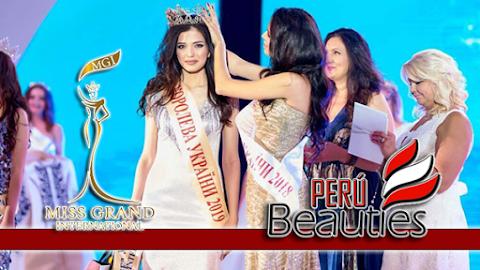 Victoria Mironova es Miss Grand Ukraine 2019