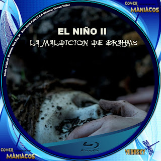 GALLETA EL NIÑO II LA MALDICION DE BRAHMS - THE BOY LA MALDICION DE BRAHMS - BRAHMS THE BOY II 2019[COVER BLU-RAY]
