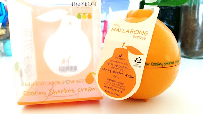 The Yeon Jeju Hallabong Energy Cooling Sherbet Cream