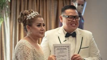 Kabar Bahagia, Reza Bukan Resmi Nikahi Pdt Serevina Silaen