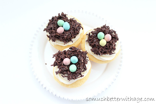 Spring cupcakes | somuchbetterwithage.com