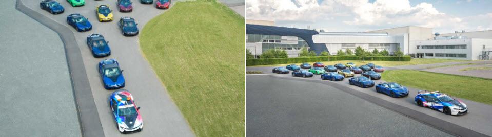 BMW chia tay i8 bằng 18 phiên bản màu sơn khác nhau
