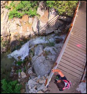 Second Set of Falls on the Three Falls Trail
