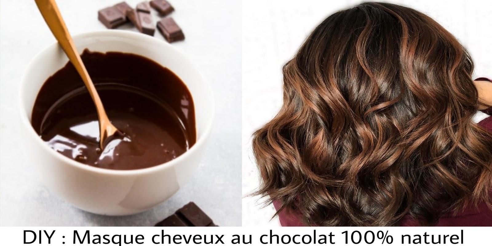 différents types de nouveau style et luxe pas cher pour réduction DIY : Masque cheveux au chocolat 100% naturel