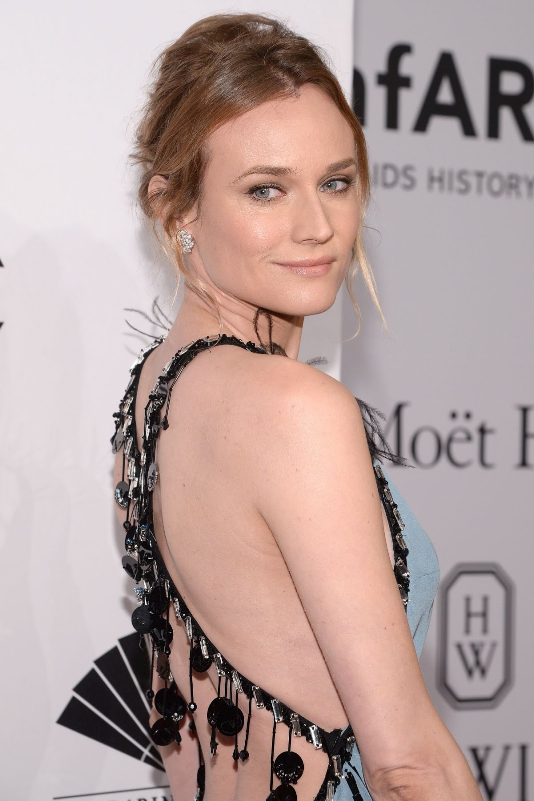 Diane Kruger at 2016 amfar New York Gala