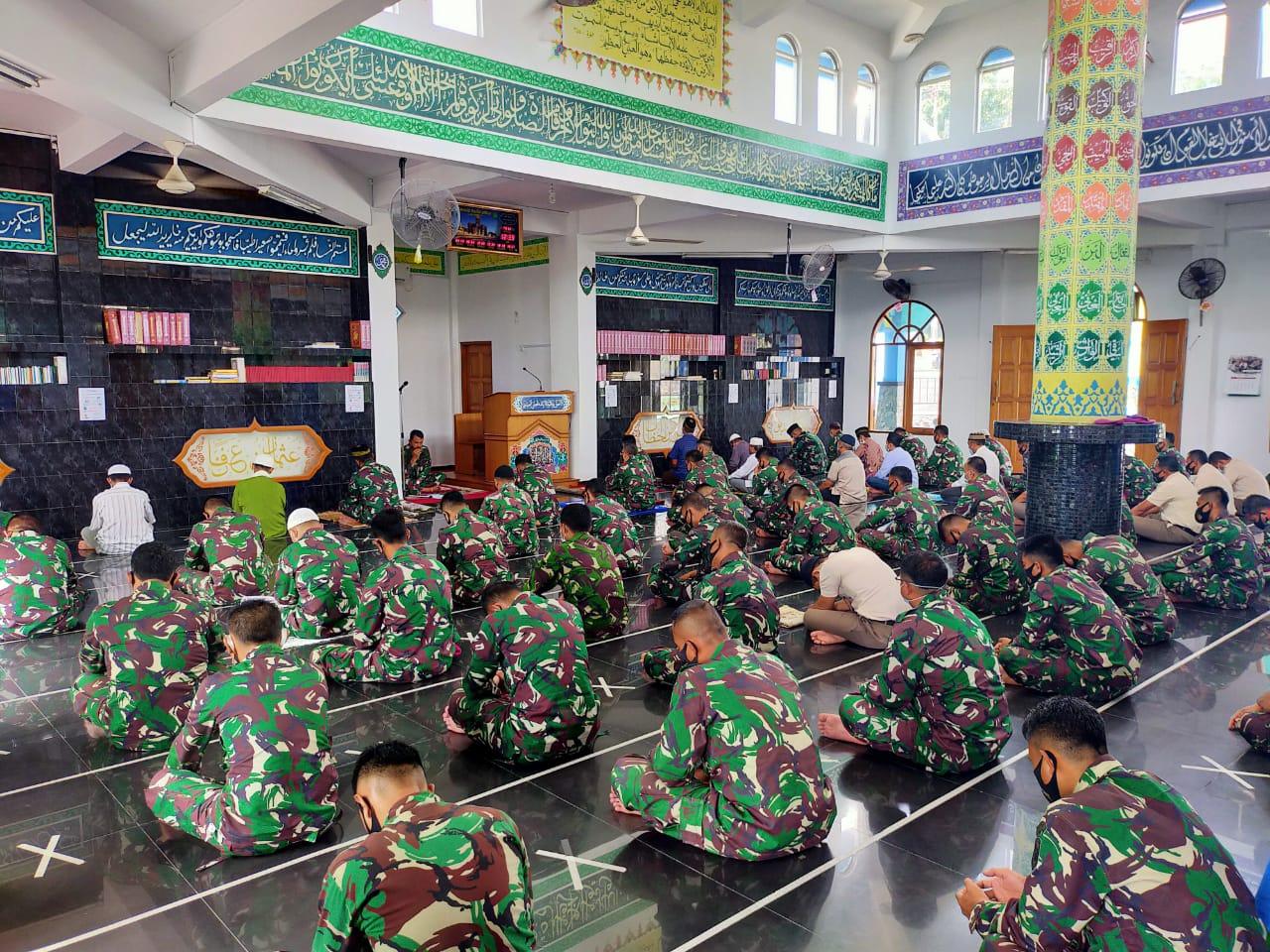 Lantamal IV Tanjungpinang Gelar Doa Bersama Jelang Tutup Tahun 2020 dan Menyambut Tahun Baru 2021
