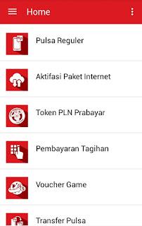 Menu baru Home  di aplikasi