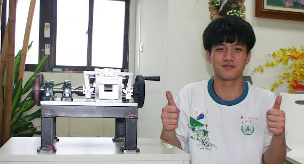 技能競賽機械類首次合併 員林農工張少羿奪亞元