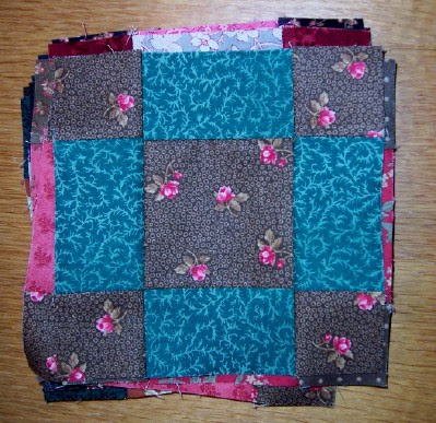 Quilting On Main Street Uneven Nine Patch
