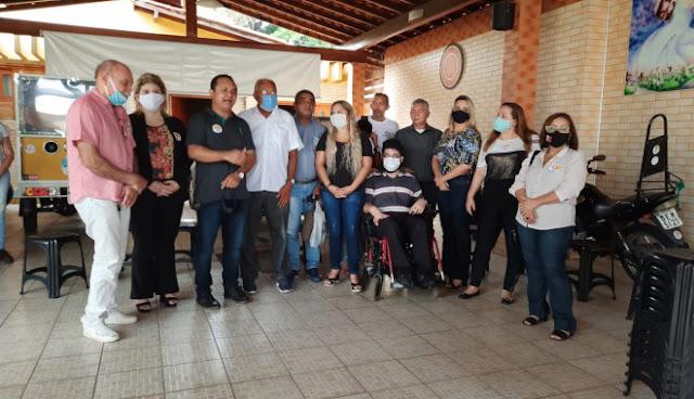 VEREADORES SUPLENTES DO SOLIDARIEDADE CONFIRMAM APOIO A DR.PESSOA