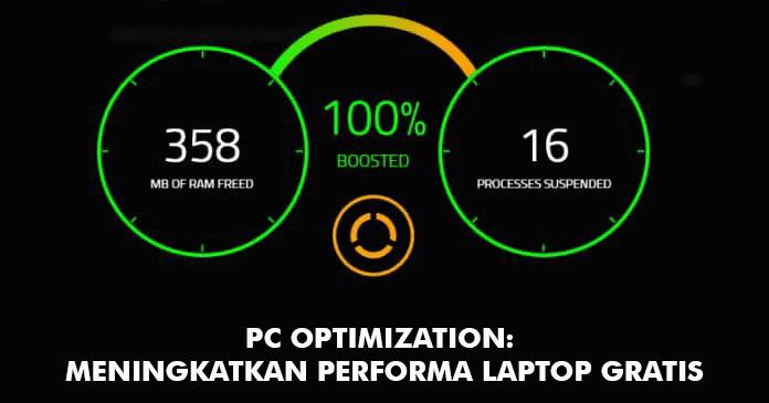 Tool Optimasi PC untuk meningkatkan kinerja pc ketika bermain game