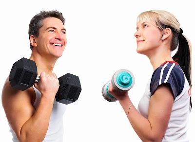 Aumenta tu masa corporal con pesas