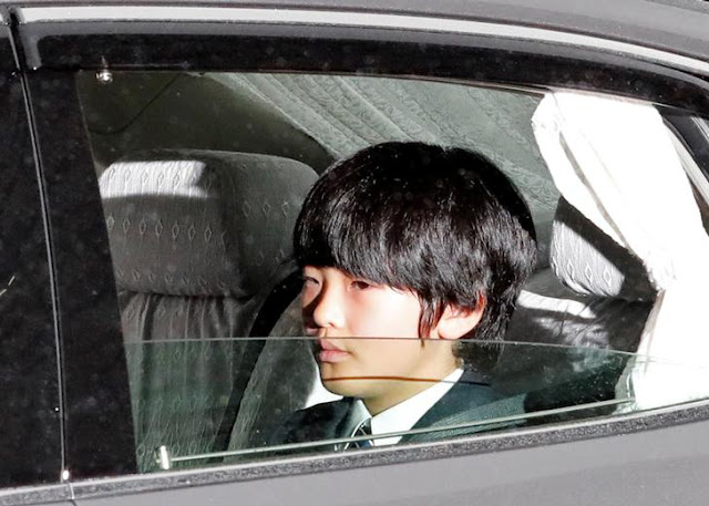 Sorang Pria Ditangkap dan Mengatakan Bahwa Dia Bermaksud Menikam Pangeran Hisahito