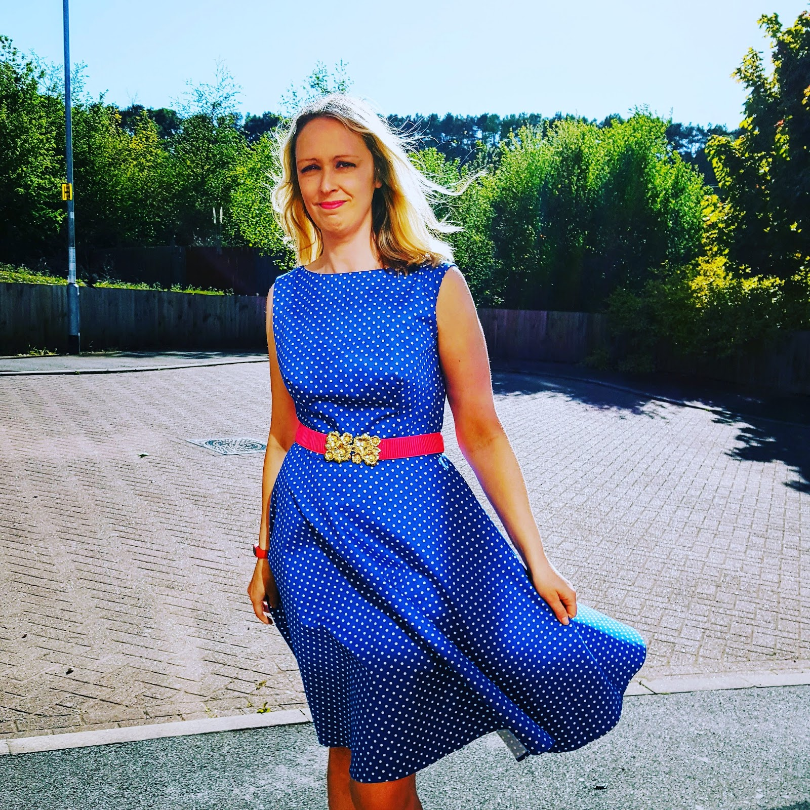 Favourite Blue Dress For Blue Dress Day