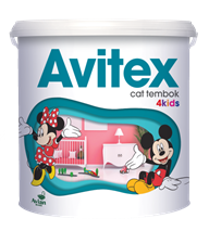 Cat Tembok Interior Avitex 4Kids
