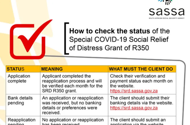 check your SASSA application status
