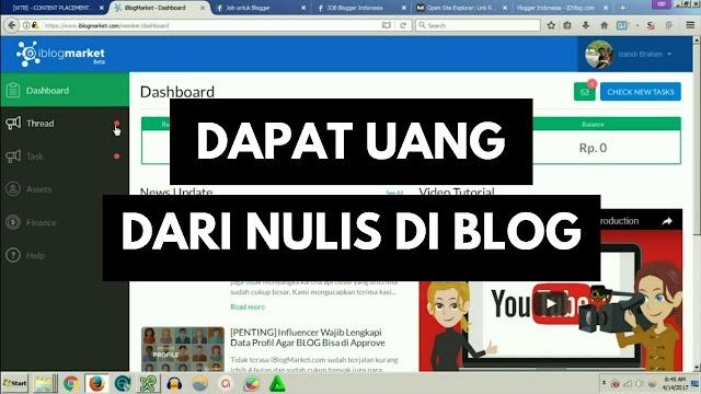 keuntungan dan kelebihan menjadi seorang blogger