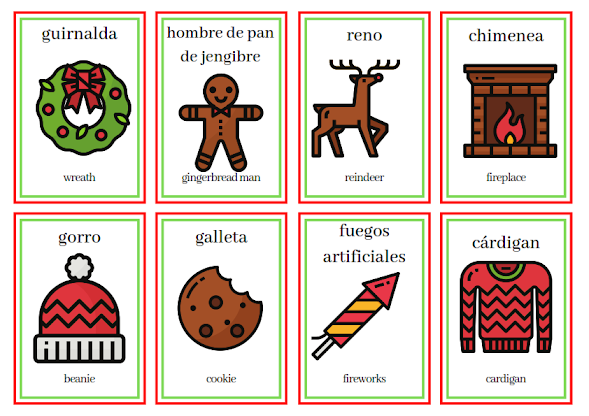 Christmas in Spanish