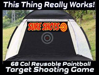 68 Cal Paintball Target Demo
