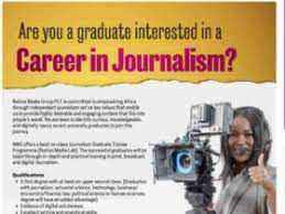 Good News: Nation Media Group (NMG) Journalism Graduate Trainee Programme 2021