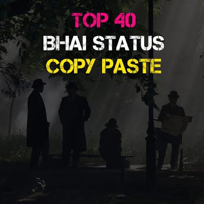 Top 40+ Bhai Shayari Copy Paste