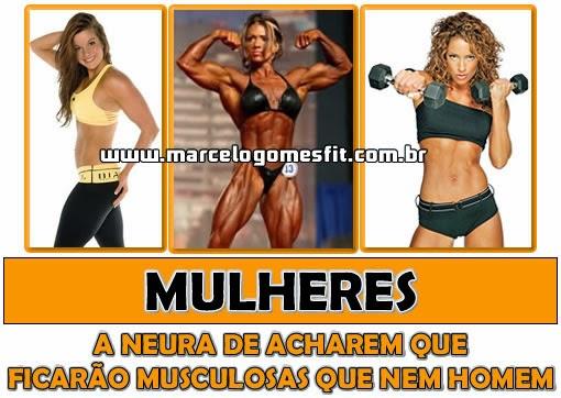 Mulheres e Musculação