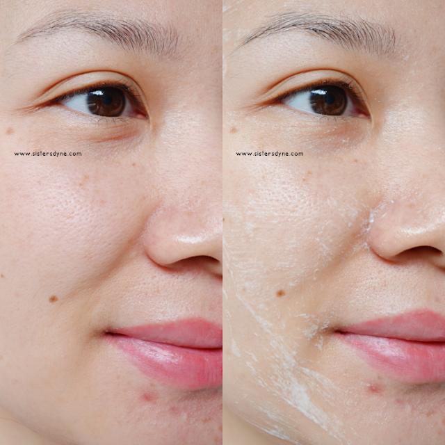 JUARA Skincare Aplikasi Radiance Enzyme Scrub