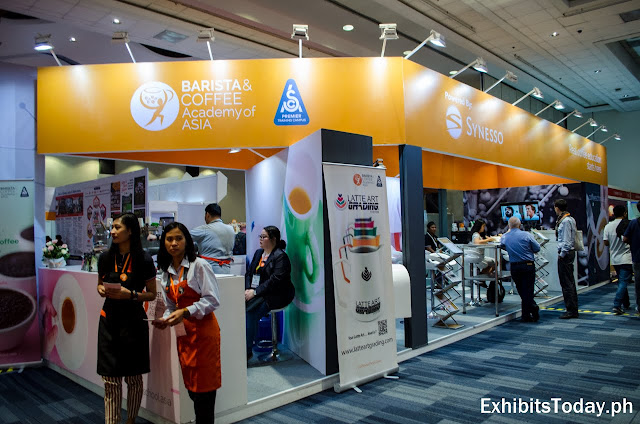 Barista & Coffee Academy of Asia Trade Show Display