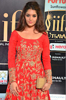 Ritika in sindoori Red Dress at IIFA Utsavam Awards 2017  Day 2  Exclusive 01.JPG