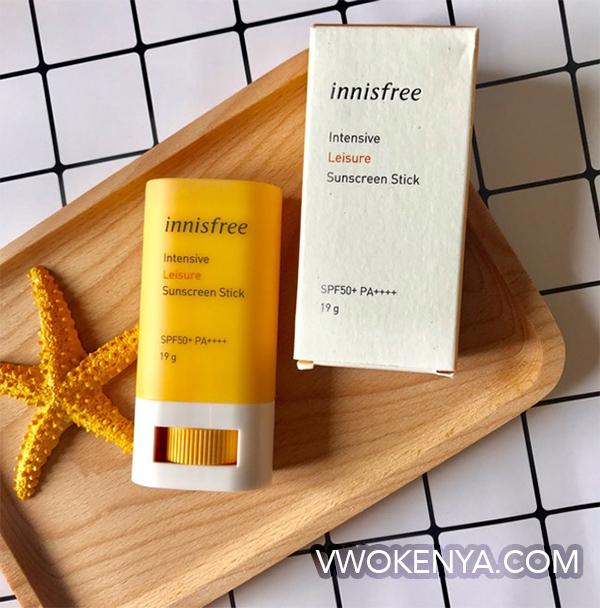 Kem chống nắng innisfree Intensive Leisure Sunscreen Stick SPF 50+ PA++++