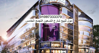 مول للبيع على شارع التسعين التجمع الخامس القاهرة الجديدة رخصة تجارى