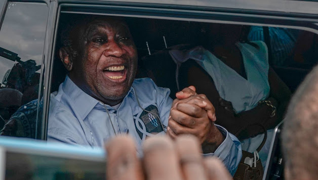 Sürgünden dönen Laurent Gbagbo'nun mutluluğu
