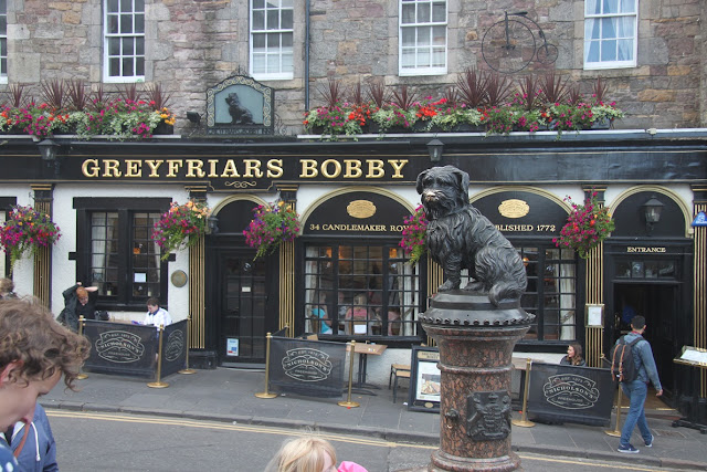 The famous Greyfriars Bobby