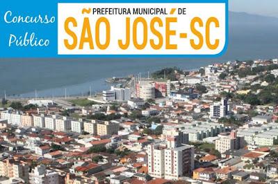Concurso da Prefeitura de São José - APOSTILAS