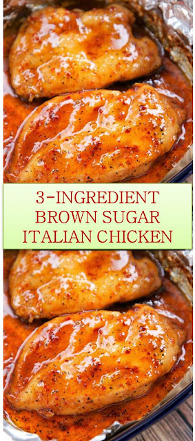 3-INGREDIENT BROWN SUGAR ITALIAN CHICKEN #3-INGREDIENT #BROWN #SUGAR #ITALIAN #CHICKEN #3-INGREDIENTBROWNSUGARITALIANCHICKEN