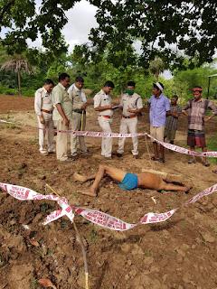 ग्राम चांदपुर में आरोपियों ने पत्थर से सर कुचलकर की हत्या, क्षेत्र में फैली सनसनी