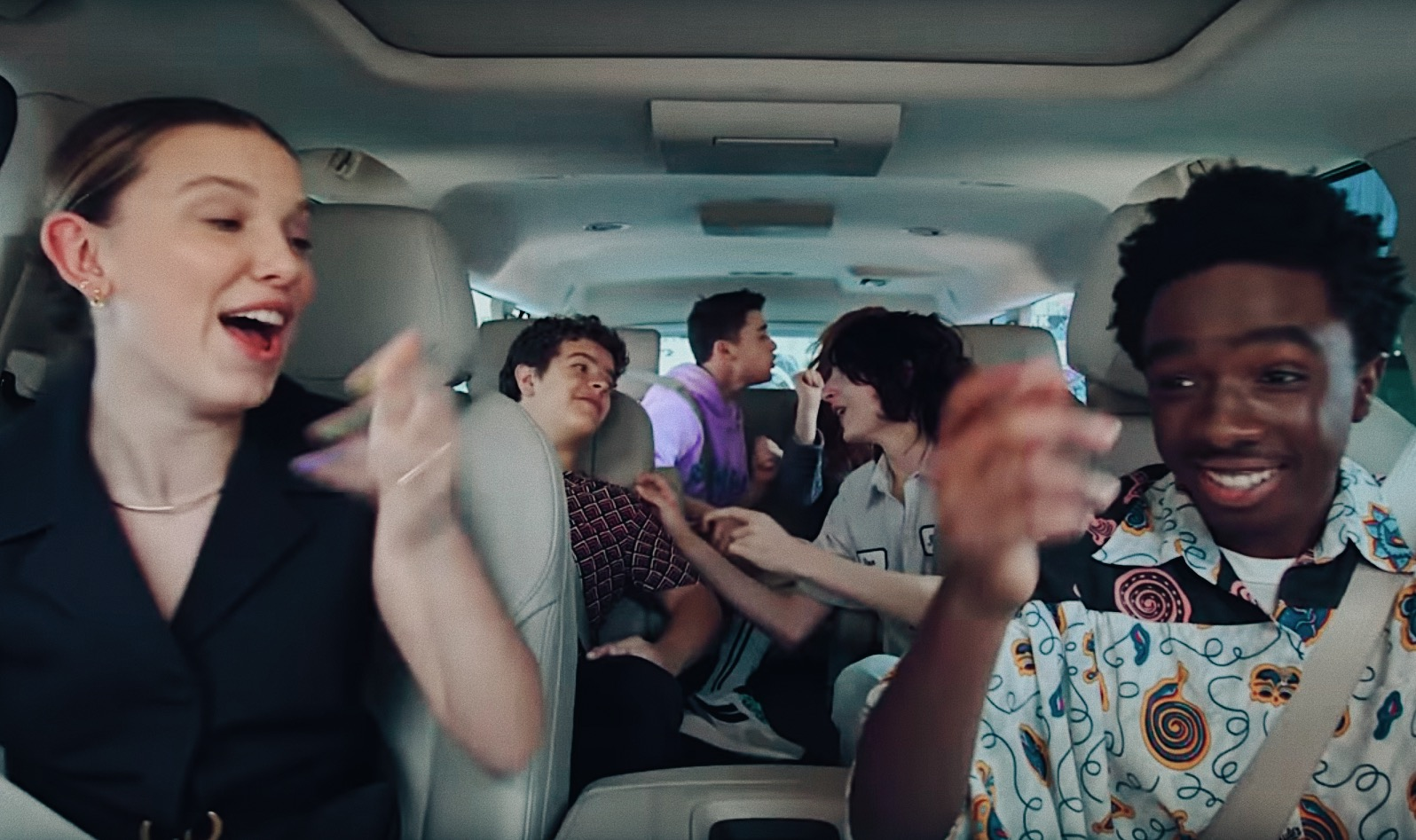 """Hop in with the cast of Netflix's """"Stranger Things"""", for this week's episode of Carpool Karaoke: The Series!"""