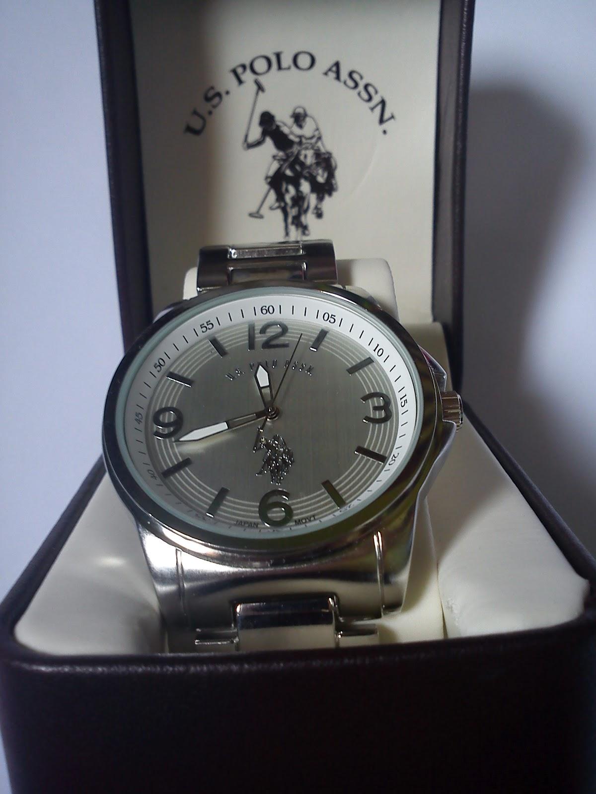 eccc65c61b9 Etos Importados  Relógio Polo Masculino Branco e Prata