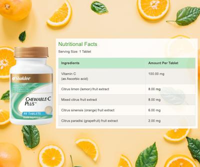 Tips Memilih Vitamin C Chewable Yang Sesuai Untuk Anak