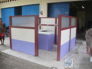 Cubicle Workstation Knockdown - Furniture Semarang