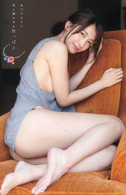 山崎真実 Mami Yamasaki Young Champion No 15 2016 Photos