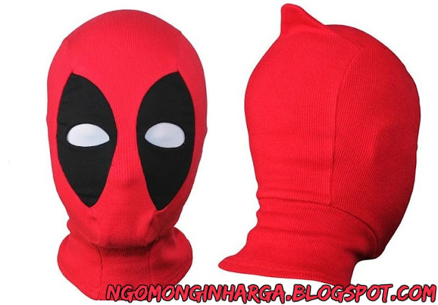 Harga Topeng Deadpool Terbaru Kualitas Oke
