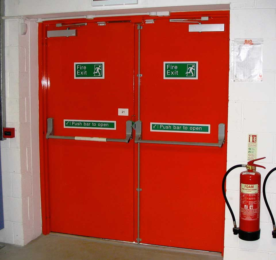 Fire Safety Doors : Fire safety training in chennai fighting equipments
