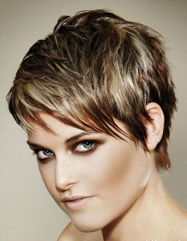 Peinados Para Cabello Corto Pelo Corto Sensacional Para Caras Redondas Tendencias 2013