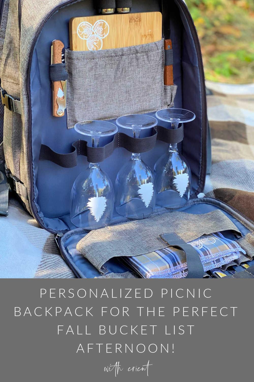 fall backpack cricut picnic