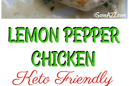 Keto Lemon Pepper Garlic Chicken Recipe