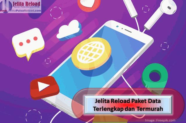 Jelita Reload Paket Data Terlengkap dan Termurah
